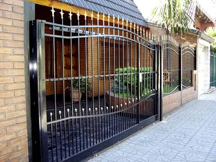 Bardeci cajas fuertes cerraduras de alta seguridad for Rejas para frente de casas fotos